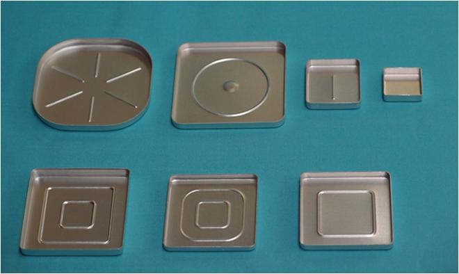 角アルミ皿正方形
