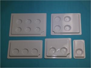 リップカードサンプル用トレイ (1色・2色・3色・4色・6色)